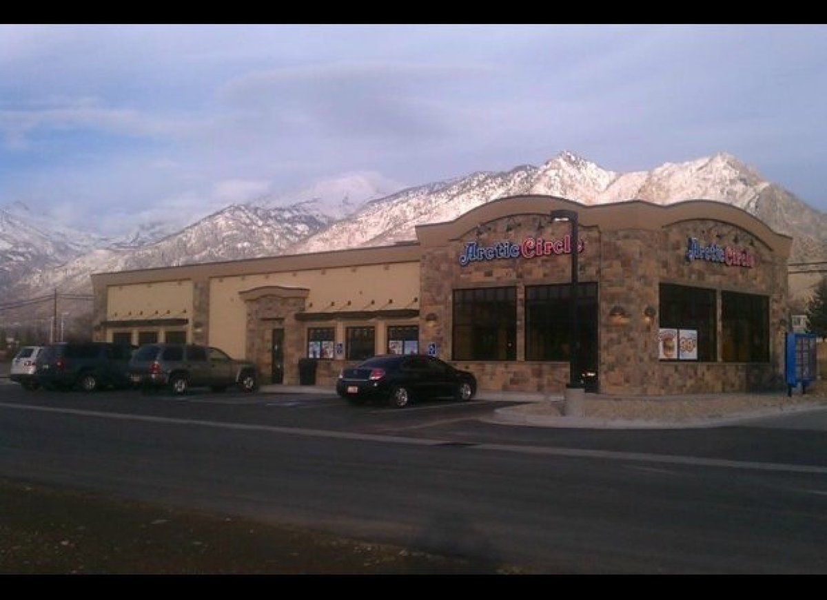 Arctic Circle has a total of 73 locations and is primarily located in Utah and Idaho. It's famous for its Black Angus beef bu