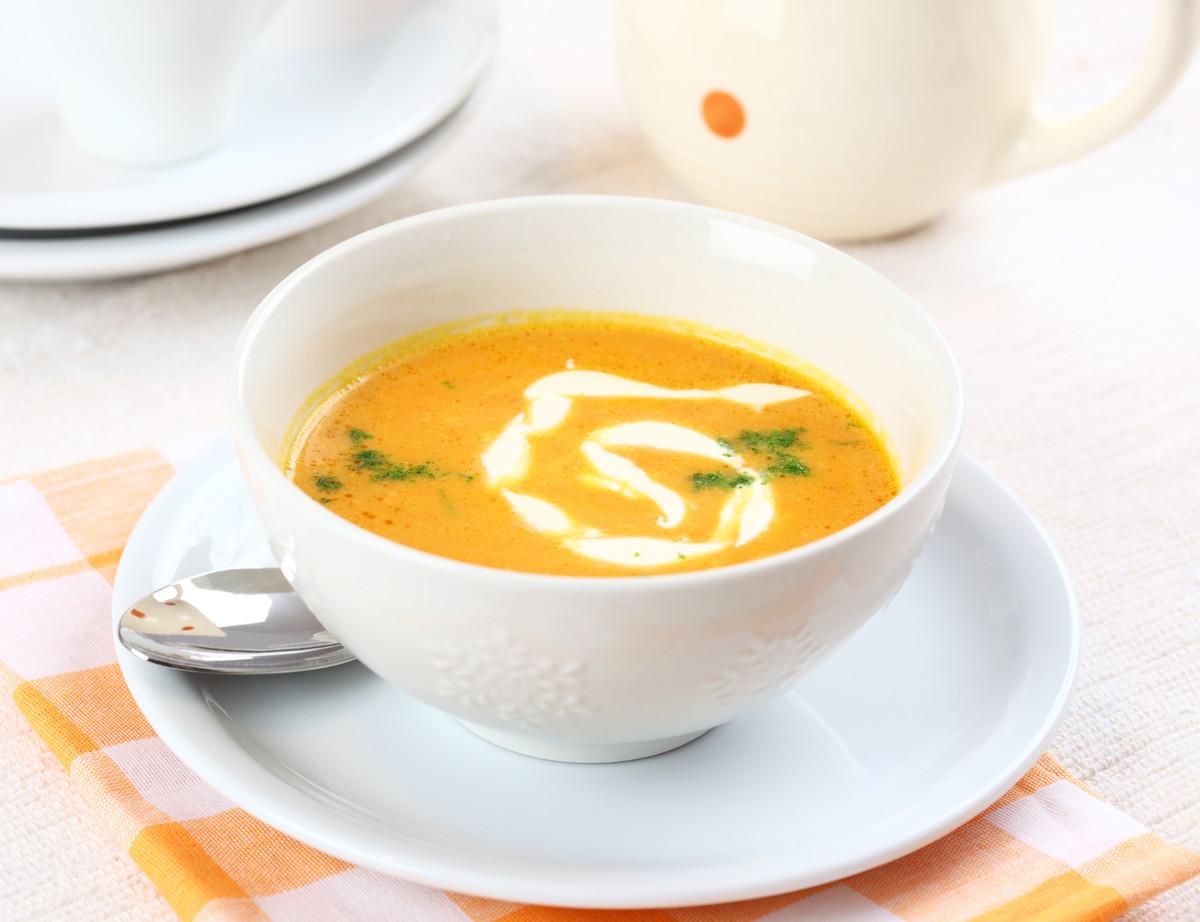 soupe tiède