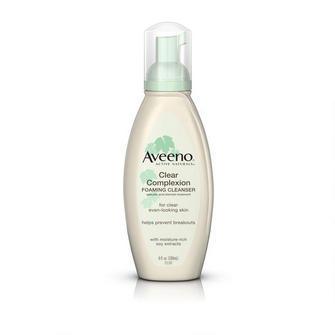 "$6, <a href=""http://www.target.com/p/aveeno-clear-complexion-foaming-cleanser-6-oz/-/A-11537413?ref=tgt_adv_XSG10001&AFID=Goo"