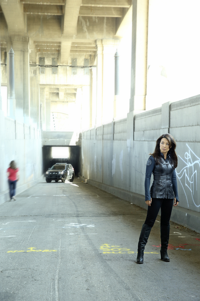 "Ming-Na Wen stars as Melinda May on ABC's ""Marvel's Agents of S.H.I.E.L.D."""