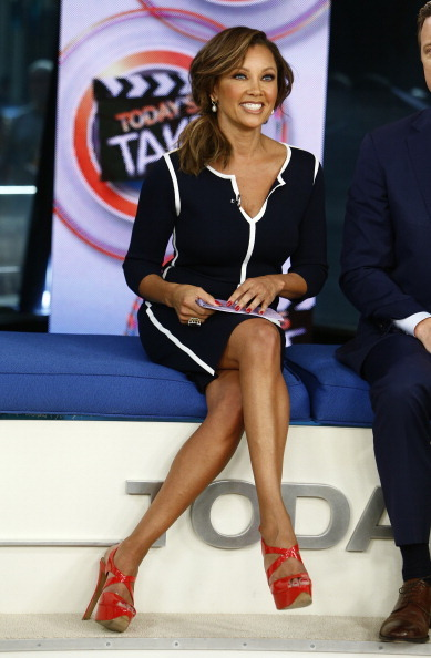 TODAY -- Pictured: Vanessa Williams appears on NBC News' 'Today' show -- (Photo by: Peter Kramer/NBC/NBC NewsWire via Getty
