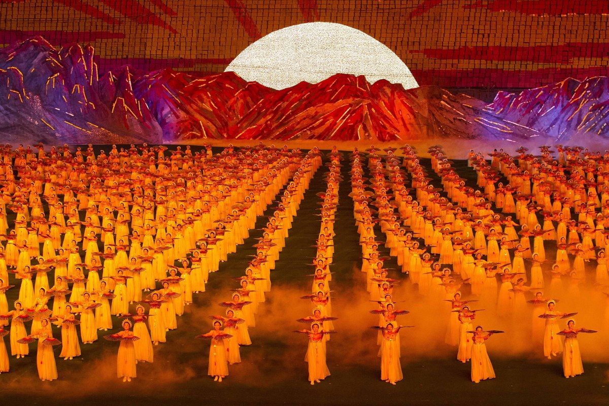 Image result for north korean red dancers