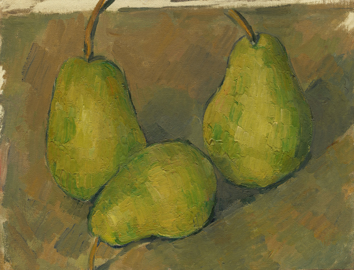 Paul Cezanne, Three Pears, 1979.