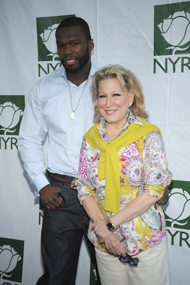 "The pair professed their mutual admiration for each other at an event for Midler's New York Restoration Project in 2009. ""He"