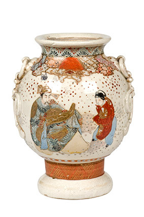 Chinoiserie, with its Asian imagery of intricate pagodas and monkeys-in-costume, first became popular in the late 19th centur