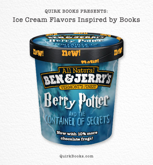 Muggles rejoice!  Inside this container you'll find a magical blend of butter beer, Bertie Bott's Strawberry Flavour Beans an
