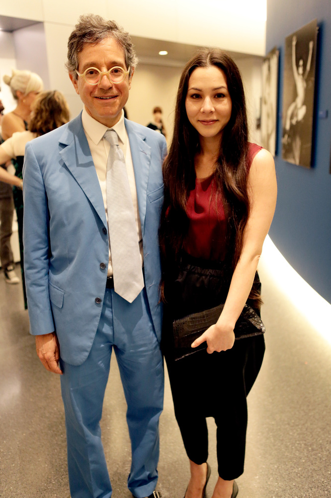 CENTURY CITY, CA - JUNE 27:  Director of the Museum of Contemporary Art Jeffrey Deitch (L) and China Chow attend the Helmut N