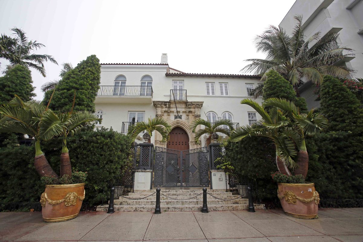 The South Beach mansion once owned by Italian designer Gianni Versace is headed for the auction block. Fisher Auction Company