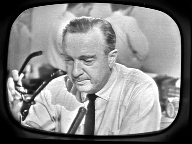 One of the earliest displays of true emotion on television occurred on November 22, 1963, when CBS news anchor, Walter Cronki
