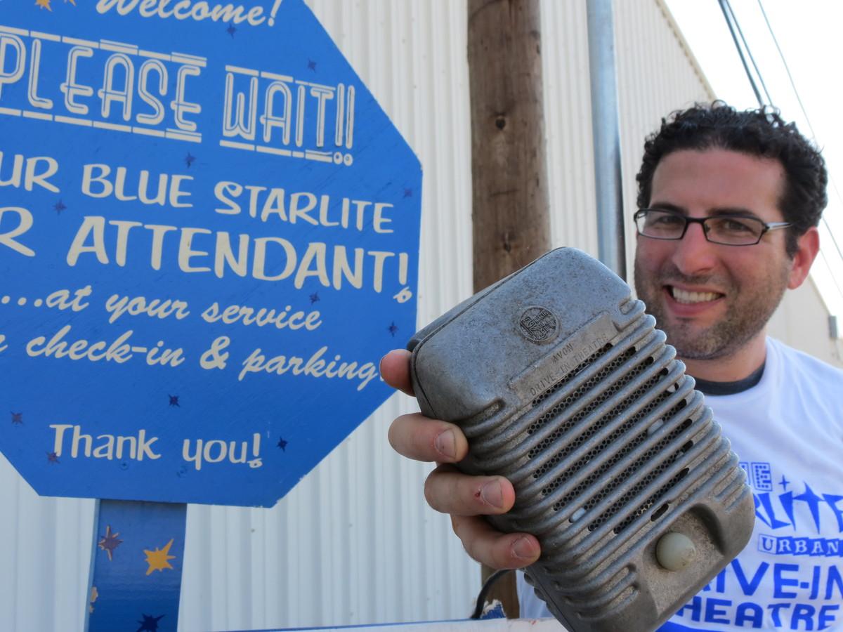 Blue Starlite founder, Josh Frank.