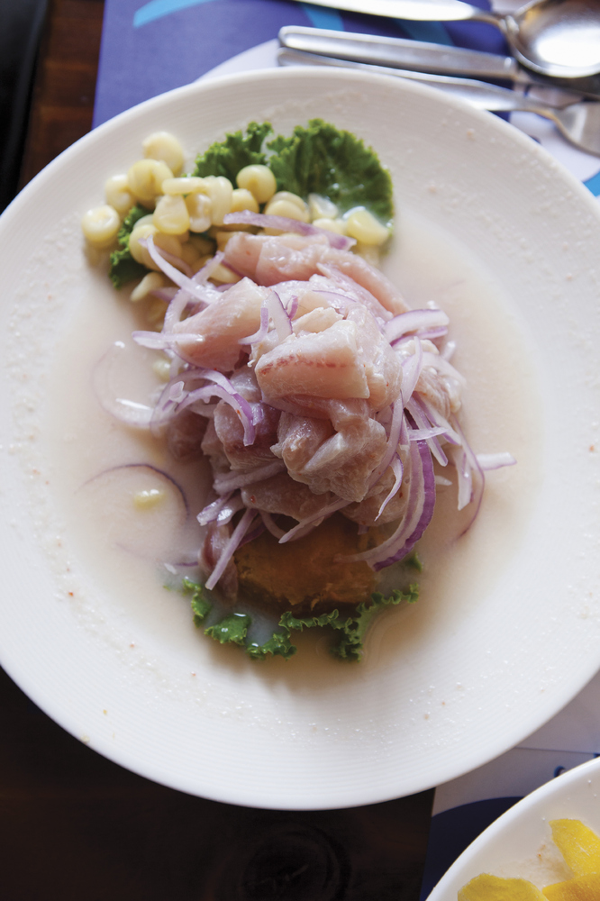 If there's one thing that sets Peru apart is it's food -- a fusion of Spanish, African, Chinese, Japanese -- that has made th