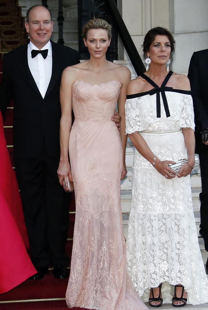 Princess Charlene Out-Glams Natalia Vodianova At Love Ball In Monaco ...