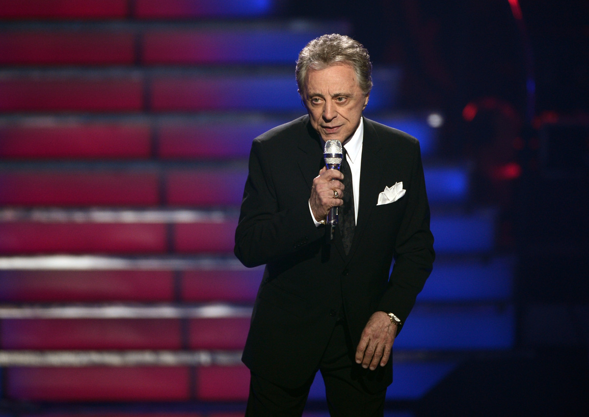 LOS ANGELES, CA - MAY 16:  Singer Frankie Valli performs onstage during Fox's 'American Idol 2013' Finale Results Show at Nok