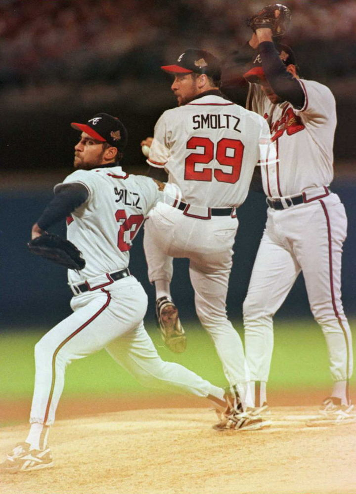 <strong>Traded For:</strong> At age 20, Smoltz was traded by Detroit to Atlanta for 36-year-old Doyle Alexander in August 198