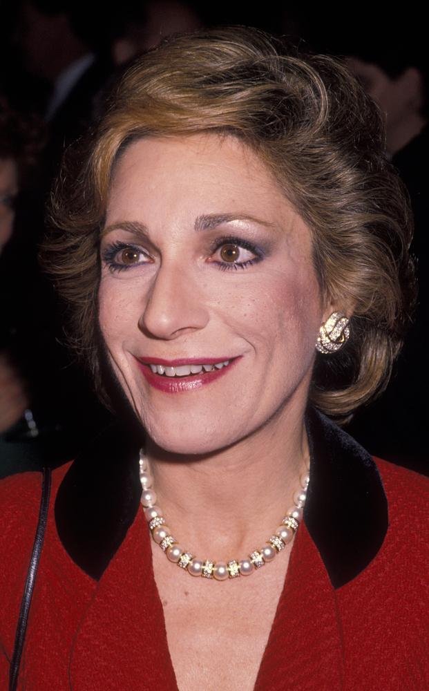 NEW YORK CITY - JANUARY 25:  Journalist Andrea Mitchell attends Alfred Dupont Awards Gala on January 25, 1990 at Columbia Uni