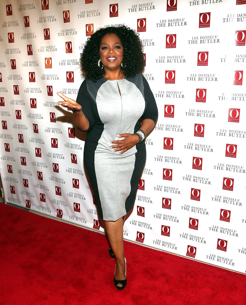 NEW YORK, NY - JULY 31:  Oprah Winfrey attends the Lee Daniels' 'The Butler' Special Screening at Hearst Tower on July 31, 20