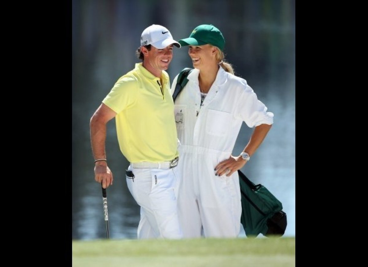 After meeting in 2011 at a German heavyweight-boxing match (of all places), North Irish golfer Rory McIlroy, 24, and Danish t