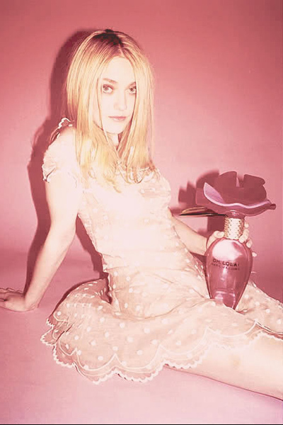 When she was 17 years old, Fanning starred in this Marc Jacobs' Oh Lola! ad. The U.K. Advertising Standards Authority pulled