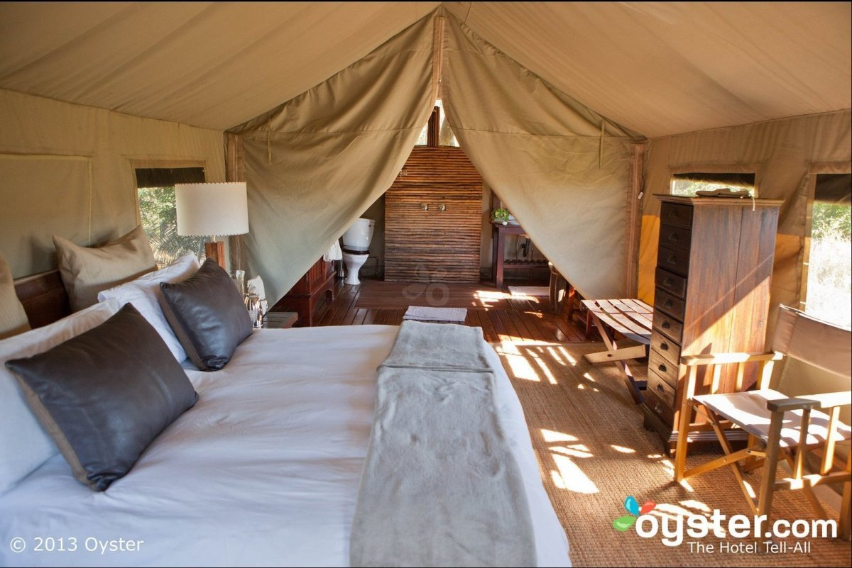 "The luxurious <a href=""http://www.oyster.com/botswana/hotels/nxabega-okavango-tented-camp/"" target=""_hplink"">Nxabega Okavango"