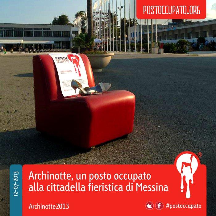 """Visual communication and <a href=""""http://www.lagrandetestata.com/"""">Posto Occupato</a> graphic concept by Maria Grazia (Magra)"""