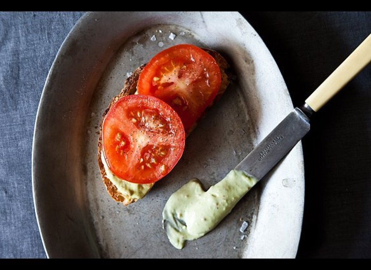 """<em><strong><a href=""""http://food52.com/recipes/17710-a-tomato-sandwich-worthy-of-a-little-bacon"""" target=""""_hplink"""">Get the rec"""