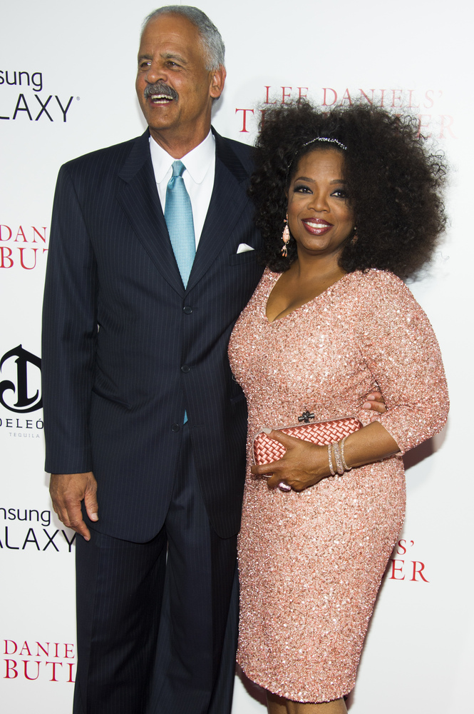 "Oprah Winfrey and Stedman Graham attend the premiere of ""Lee Daniels' The Butler"" on Monday, Aug. 5, 2013 in New York. (Photo"
