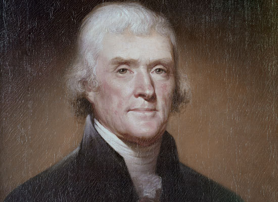 Since the 18th Century, historians whispered that, after his wife's death, America's third president Thomas Jefferson took hi