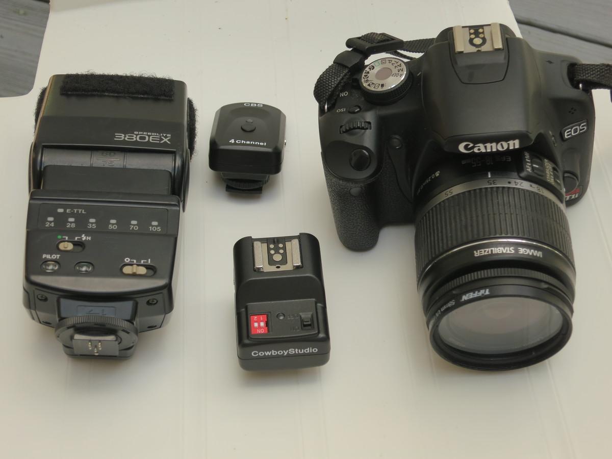"""""""Cameras... always camera equipment,"""" said Connie Small."""