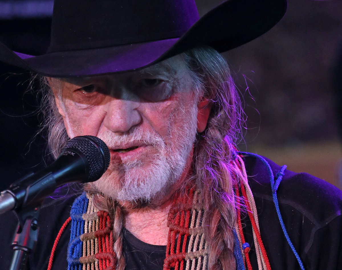 A new member of the octogenarian club, Willie Nelson turned 80 this past April and he's still performing constantly.