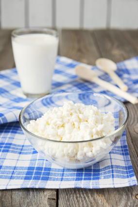 <strong>Cottage cheese. </strong>This classic diet food is a surprisingly effective binder for chicken and tuna salads -- it