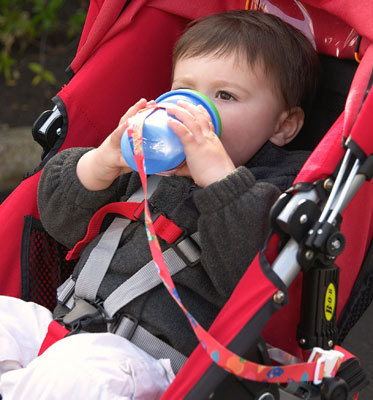 Jake drove his mother crazy when he chucked his sippy cup across the room, but he also inspired her. When Sari couldn't find