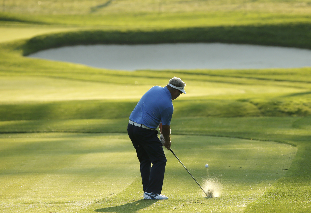 A downhill, downwind opening hole, with no need for driver off the tee given the urgency of getting the ball in the fairway.