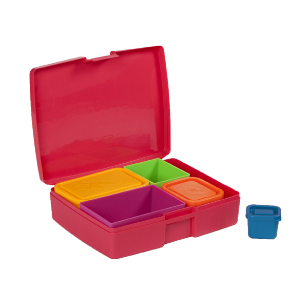 Bento boxes are fun because you can compartmentize your child's meal and give the impression that you are offering them somet