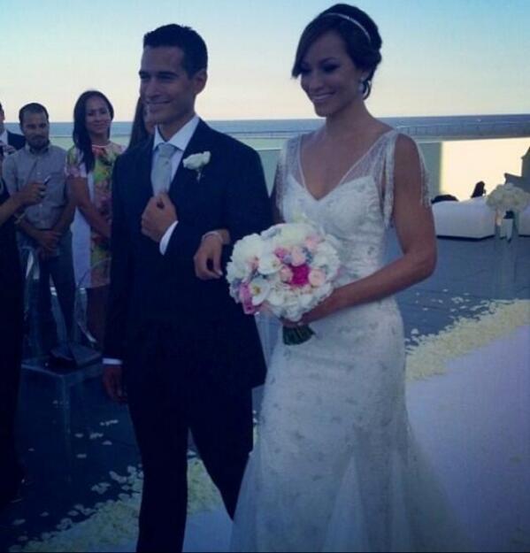 Satcha Pretto Y Aaron Buttler Ya Son Marido Y Mujer Toda La Boda En