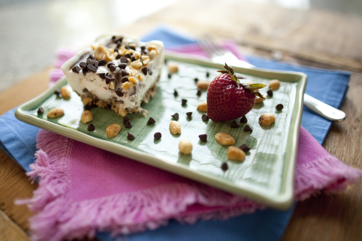 """This sweet dessert was created by Brianne Izzo, the blogger behind <a href=""""http://cupcakesandkalechips.com/"""" target=""""_blank"""""""