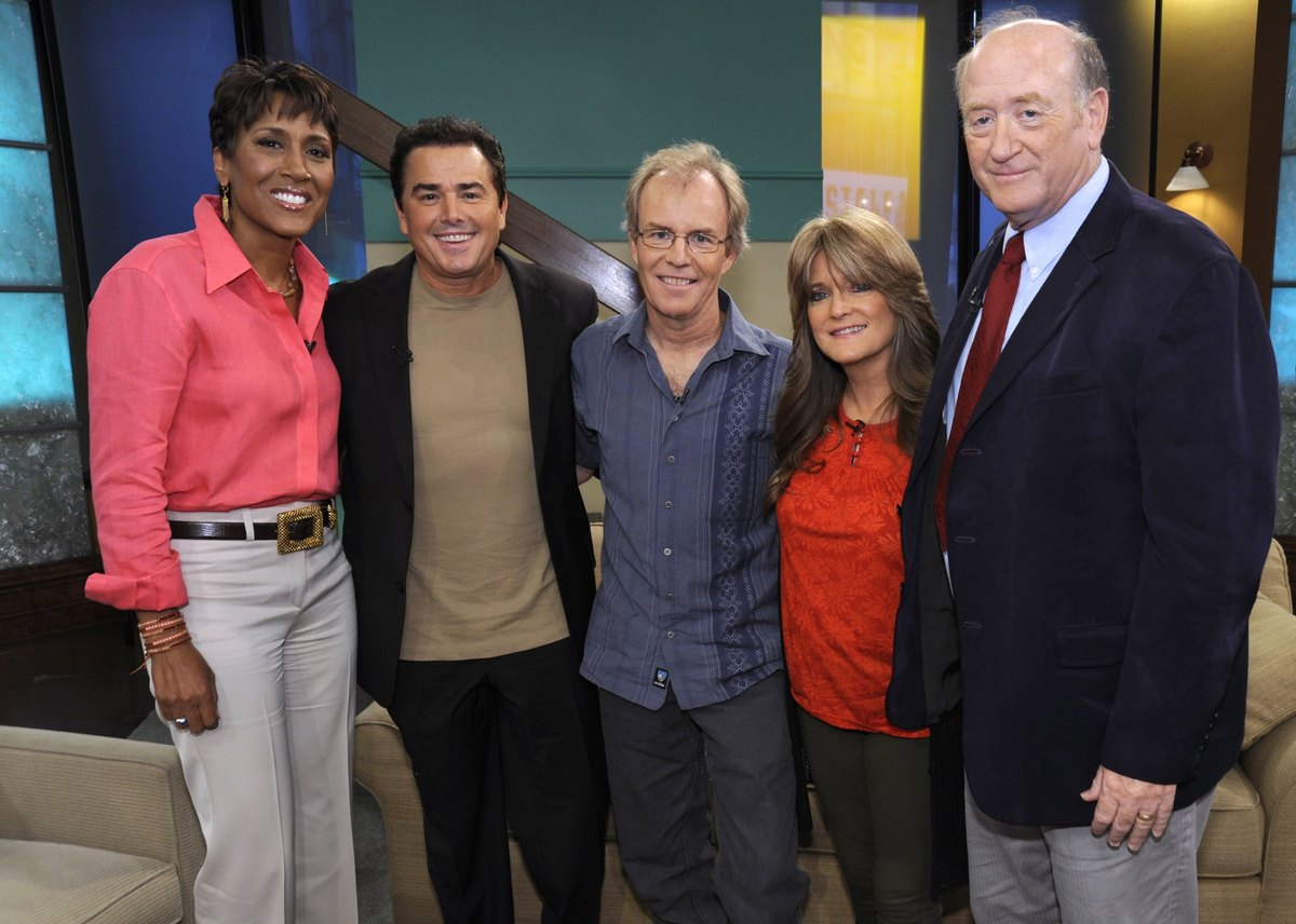 GOOD MORNING AMERICA -- The cast of 'The Brady Bunch' reunites on 'Good Morning America,' 9/9/10, airing on the ABC Televisio