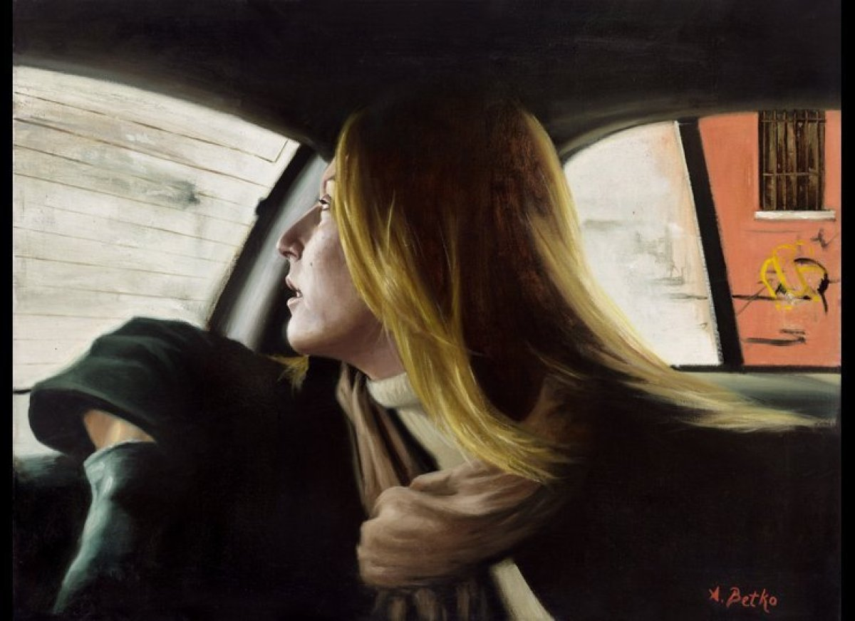 """Breathe"" Aleksander Betko oil on linen  18"" x 24"""