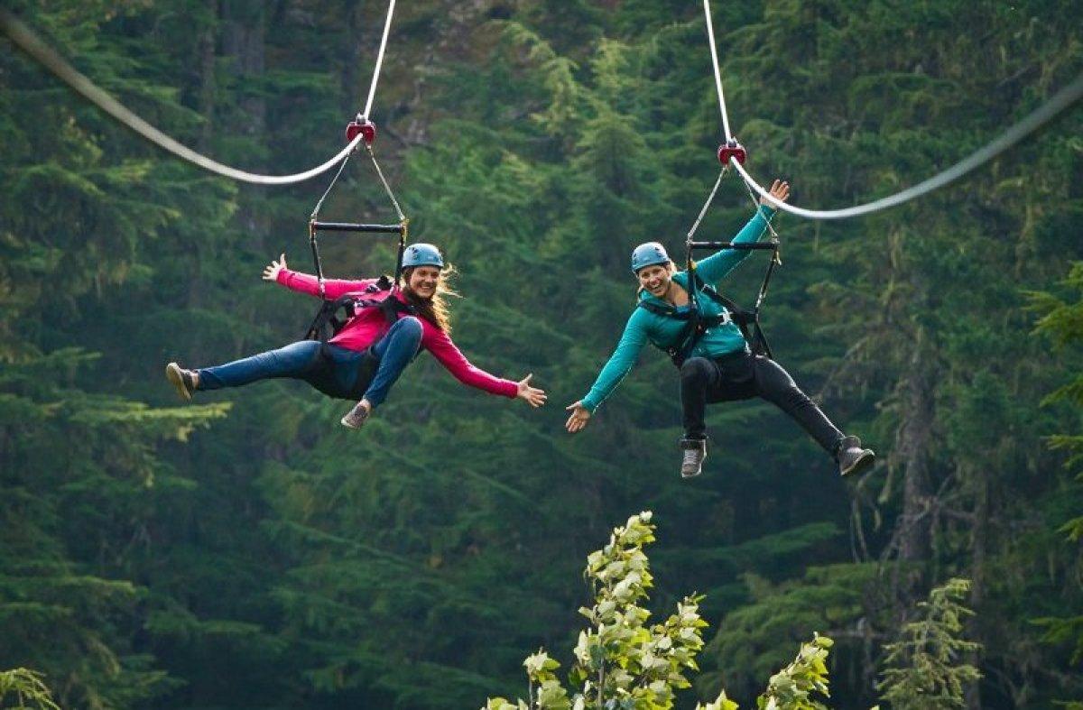 Superfly Zipline Adventure Near Whistler British Colombia
