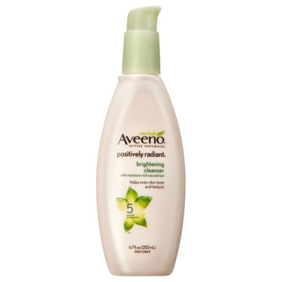 """$7, <a href=""""http://www.target.com/p/aveeno-positively-radiant-brightening-cleanser/-/A-11537364"""" target=""""_blank"""">target.com<"""