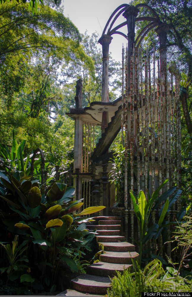 "A ""Surrealist Xanadu"" in the heart of the Mexican jungle, Las Pozas (the Pools) combines man-made structures with exotic flow"