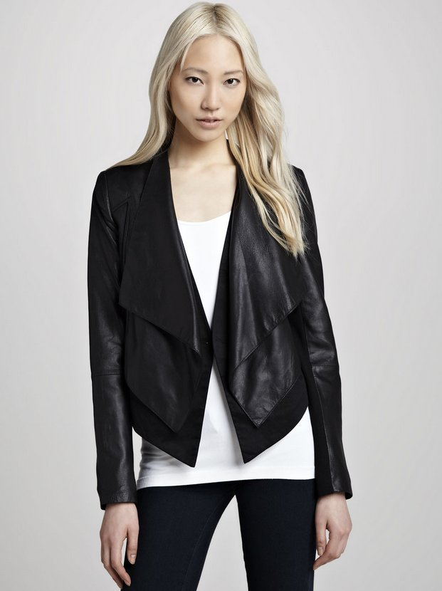 25 Amazing Leather Jackets That Will Carry You Through Fall ...