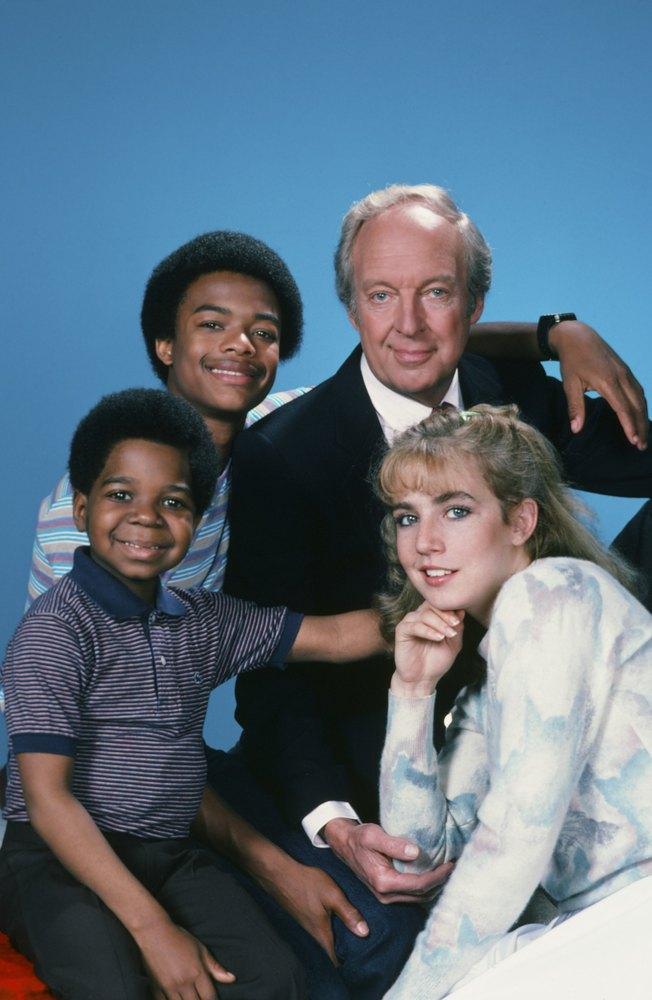 DIFF'RENT STROKES -- Season 5 -- Pictured: (l-r) Gary Coleman as Arnold Jackson, Todd Bridges as Willis Jackson, Conrad Bain