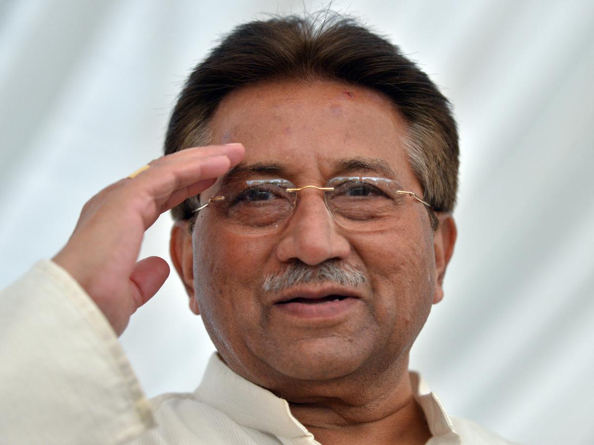 Aug. 11, 1943: Pervez Musharraf born in New Delhi in what is now India.  <em>Former Pakistani president Pervez Musharraf salu