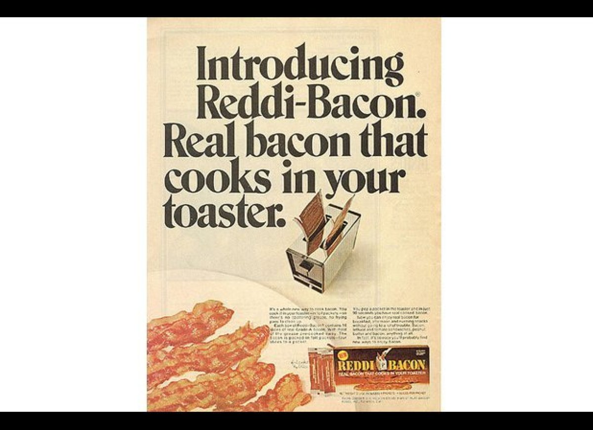 Back in those heady 1970s, everything was about convenience. Just look at Reddi-Whip. Why spend the time to whip your own cre