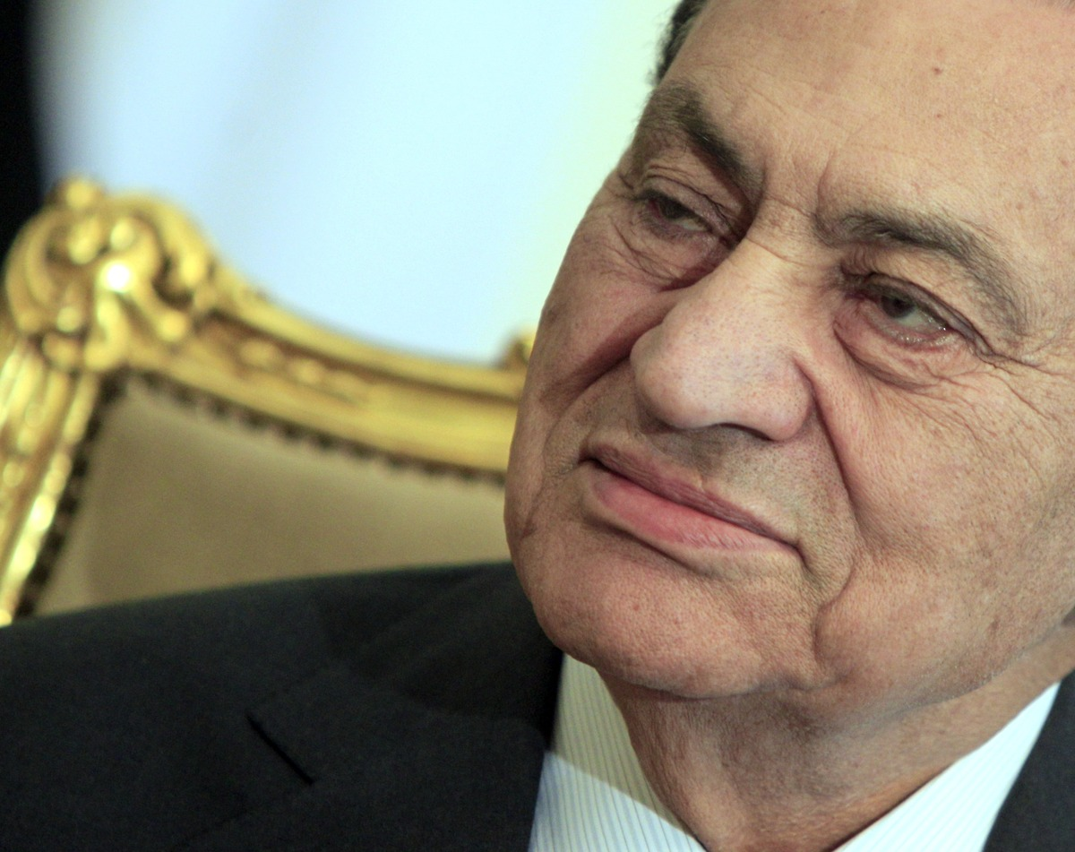 Mubarak is born in Kafr El-Meselha in the Nile Delta province of Monofiya.  <em>In this Tuesday, Feb. 8, 2011 file photo, the