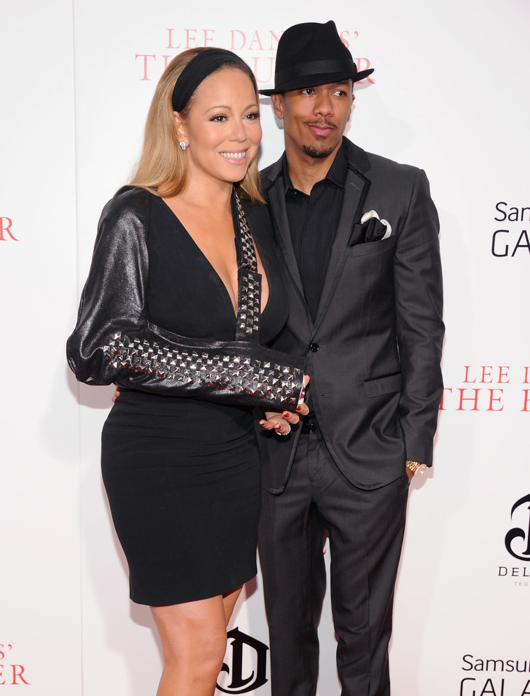"""Mariah Carey and Nick Cannon <a href=""""http://www.people.com/people/article/0,,20198595,00.html"""" target=""""_blank"""">eloped in a s"""