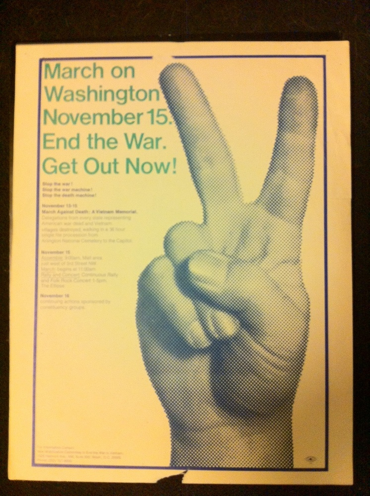 On Nov. 15, 1969, as many as half a million people convened in Washington to protest the Vietnam War, in what is believed to