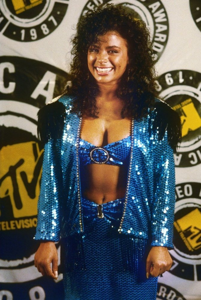 Paula Abdul (1987)  To be fair, this is what 1987 looked like.