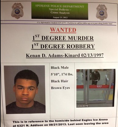 Kenan Adams-Kinard is wanted for murdering an 88-year-old WWII veteran. The 16-year-old allegedly beat the man to death in a