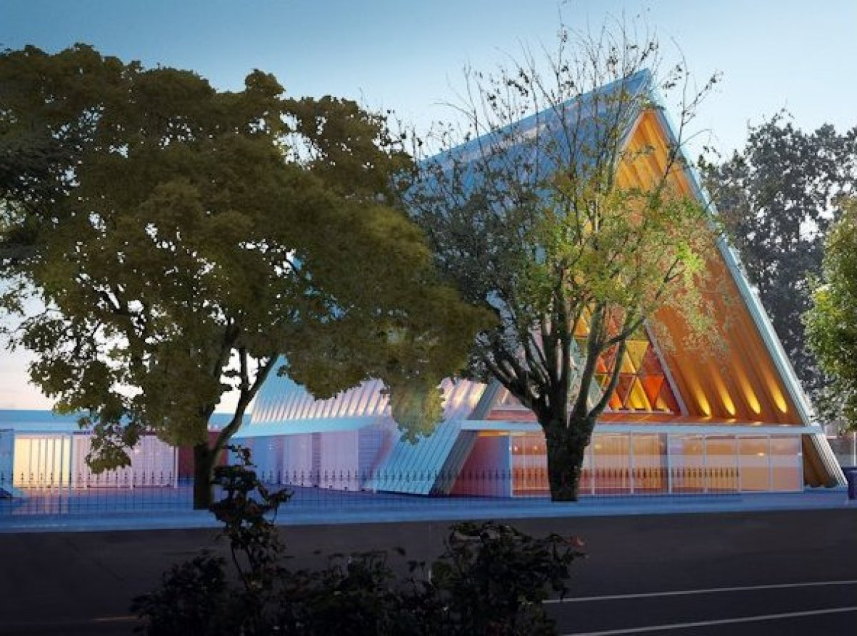 The Cardboard Cathedral stands as a universal symbol of Christchurch, New Zealand's recovery.